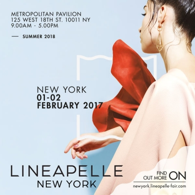 LINEAPELLE NEW YORK, February, 1-2 2017