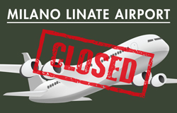 LINATE AIRPORT CLOSURE DURING LINEAPELLE